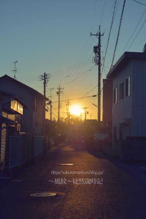 冬の日、落日。_f0235723_19543116.jpg