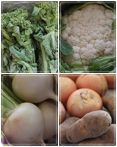 有機野菜が届きました!_c0141025_1612813.jpg