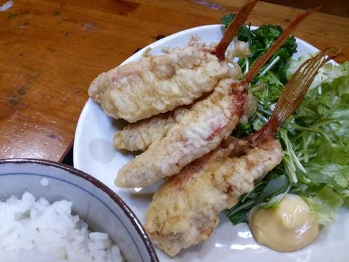 アカゴチの食感は魚じゃないね_c0010936_234934.jpg