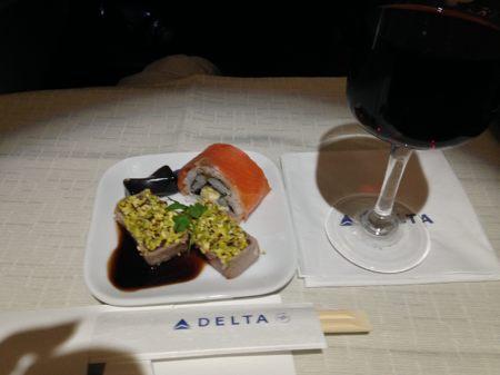 2014年1月 ハワイ女子旅 ① デルタ航空ビジネスクラス_e0271143_11737100.jpg