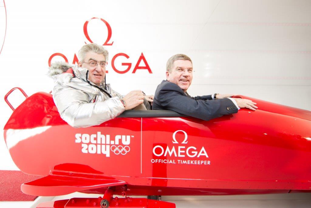 現地最速リポート:ソチのオメガ ・パビリオンがオリンピックパーク内にオープン_f0039351_10349.jpg