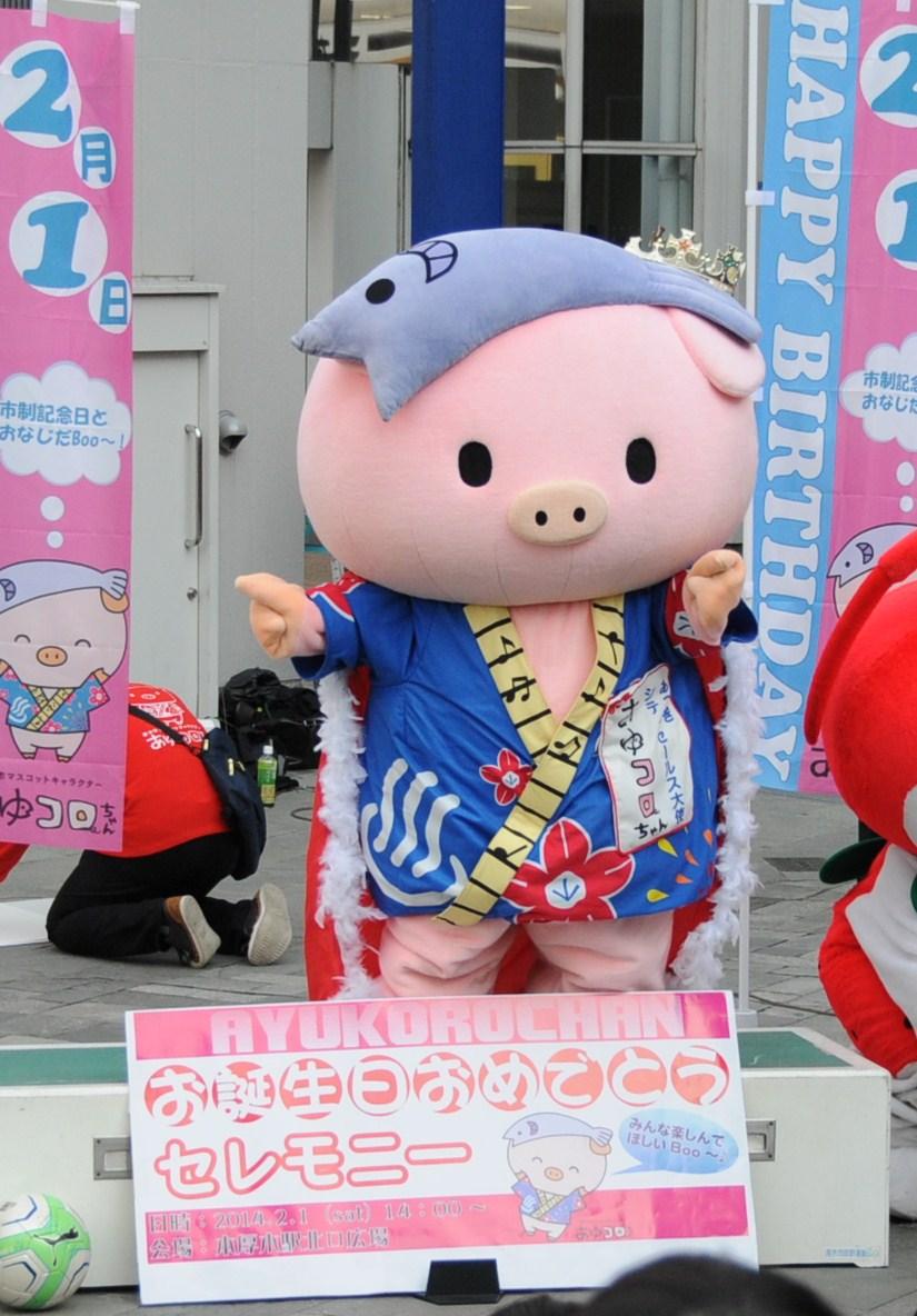あゆコロちゃんお誕生日おめでとうセレモニー_a0147759_18475834.jpg