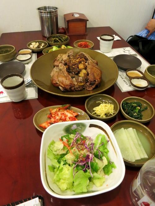 X\'mas in Seoul ⑭クリスマスイヴに鴨の丸焼き♪_f0236260_21515271.jpg
