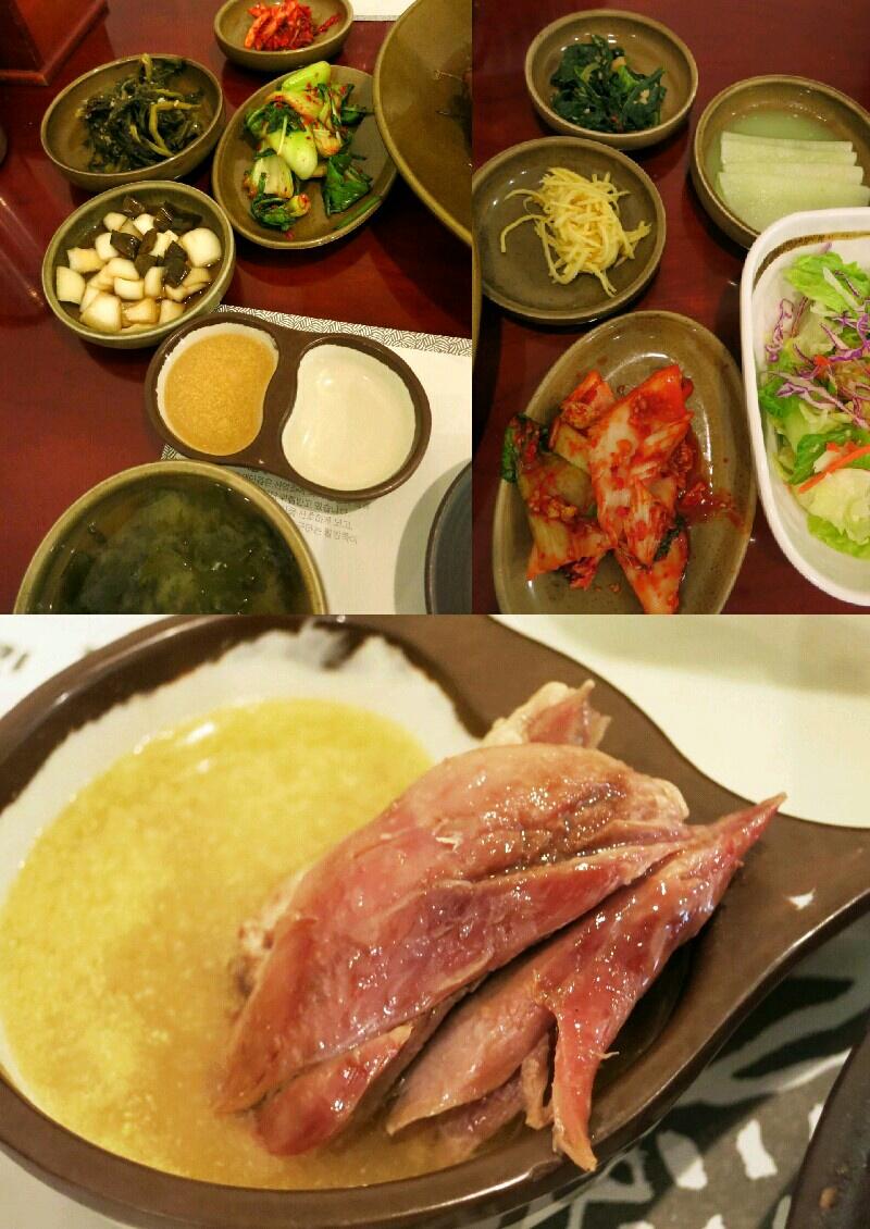 X\'mas in Seoul ⑭クリスマスイヴに鴨の丸焼き♪_f0236260_2218716.jpg