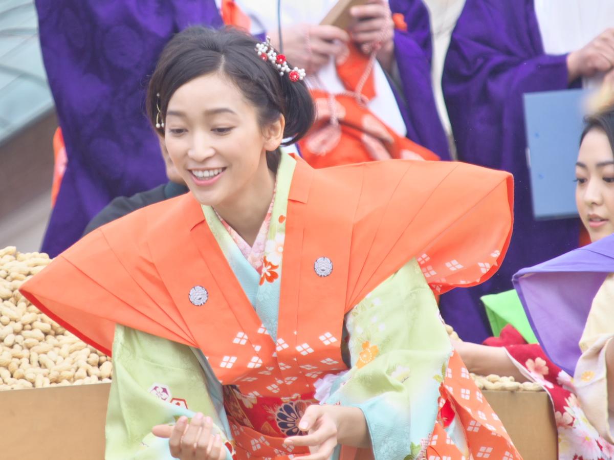 成田山節分祭<杏>_f0021869_230933.jpg