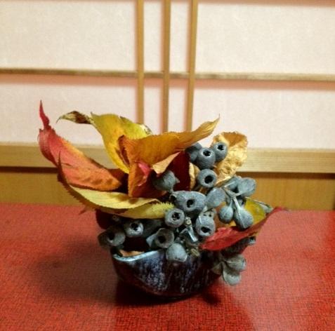 サンザシ、菊、野菊の自由花_b0248803_22384469.jpg