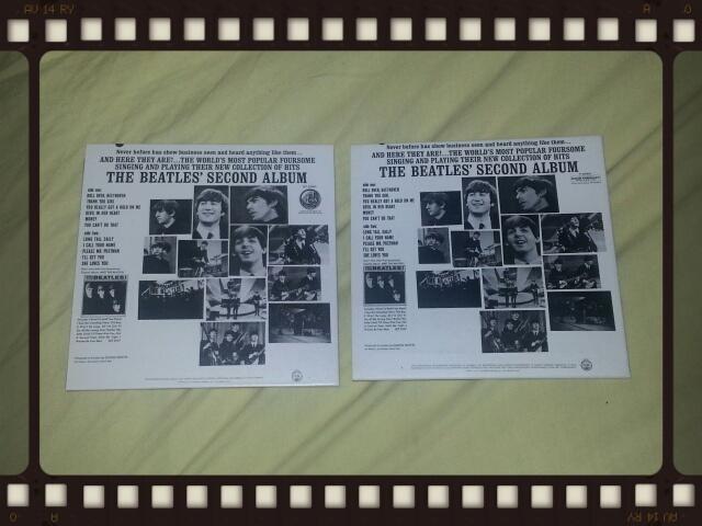 THE BEATLES / SECOND ALBUM_b0042308_23161358.jpg