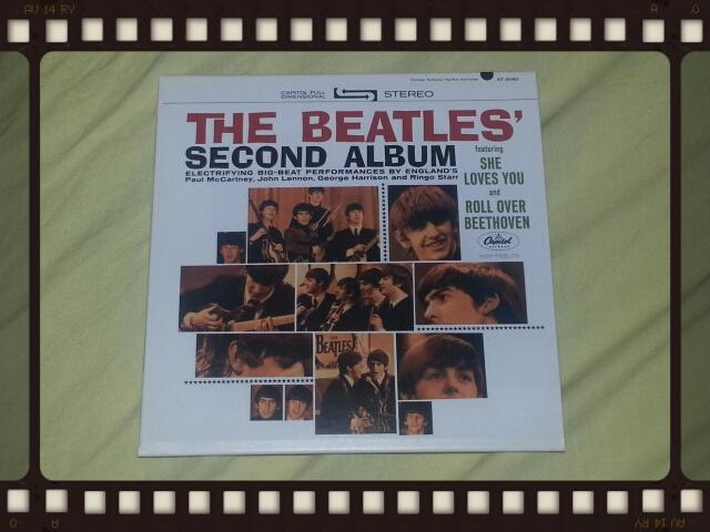 THE BEATLES / SECOND ALBUM_b0042308_23161756.jpg