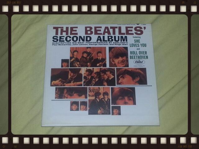 THE BEATLES / SECOND ALBUM_b0042308_23162185.jpg