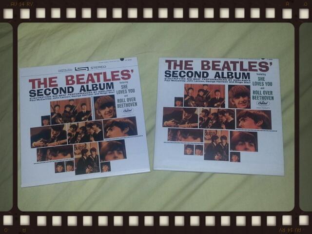 THE BEATLES / SECOND ALBUM_b0042308_2316936.jpg