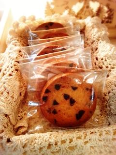 新作メニュー<チョコチップクッキー>_e0211448_16524797.jpg
