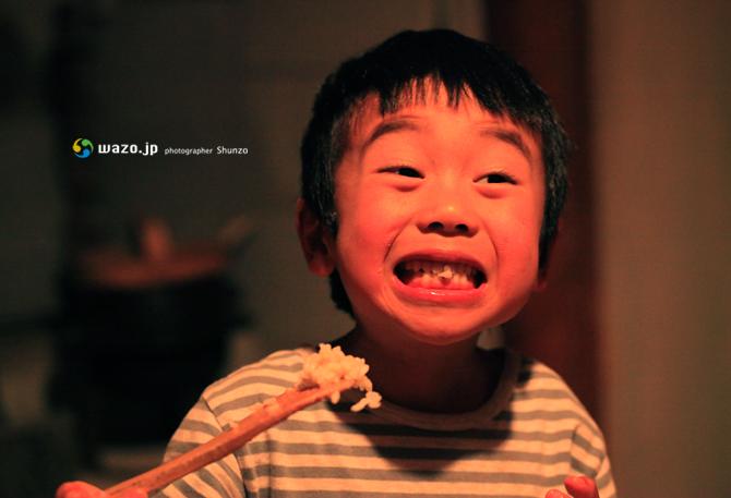 炊きたてのご飯をシャモジで食べると_f0258061_10403591.jpg