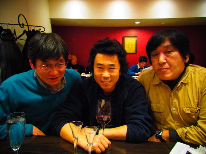 ワインとグルジア料理を堪能し、「むかしお兄さん&おねえさんの宴」は絶好調!!_e0120614_17293118.jpg