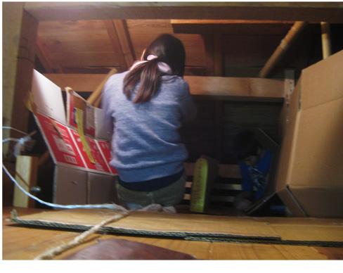 屋根裏で、、、・小学生クラス_f0211514_21113423.jpg