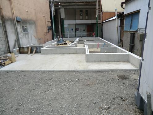 基礎工事完了 齋藤_e0149215_22193225.jpg