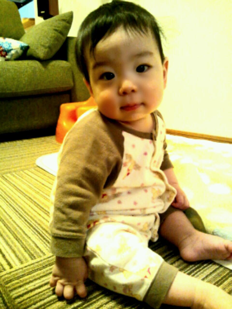 「息子8ヶ月。初めての発熱。」_e0149717_21485833.jpg