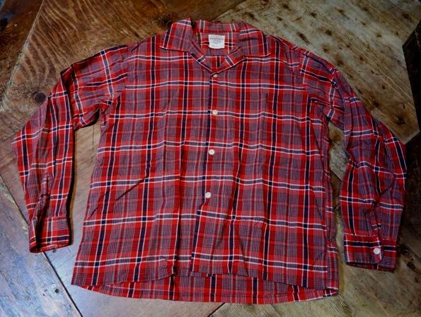 2月8日(土)入荷!50'S TOWN CROFT オープンカラーシャツ!_c0144020_15120126.jpg
