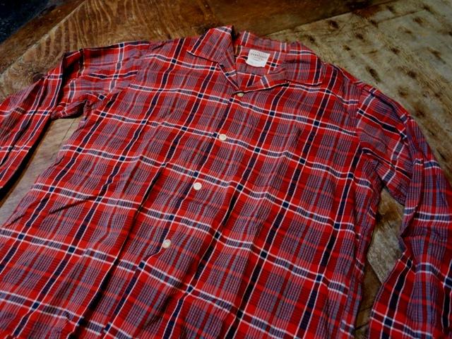 2月8日(土)入荷!50'S TOWN CROFT オープンカラーシャツ!_c0144020_15120453.jpg