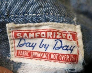 2月8日(土)入荷!50'S Day by Day マチ付 シャンブレーシャツ!_c0144020_15270163.jpg
