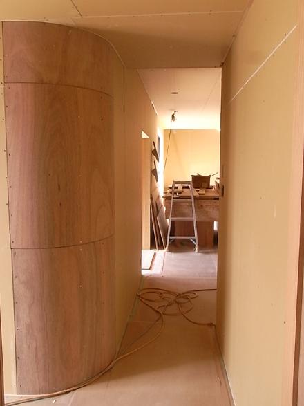 『プールサイドの家』 外壁が完了しました。_e0197748_1620144.jpg