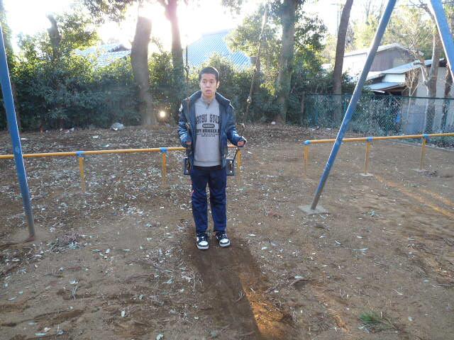 『公園に行ってきたよ~』_c0214657_18581393.jpg