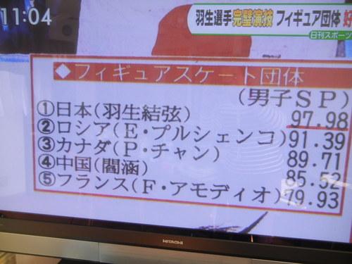 '14,2,7(金)羽生選手が団体で最高点!_f0060461_11401324.jpg