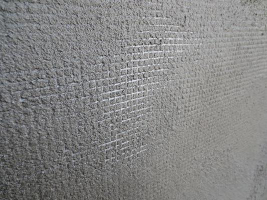 朝霞の家 外壁モルタル塗り_c0310571_11470318.jpg
