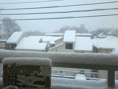 うちのベランダの積雪観察?_a0275527_18400527.jpg