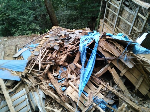 【DRT事業】観音道のお堂を解体する_c0010936_110256.jpg