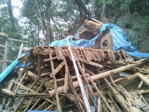 【DRT事業】観音道のお堂を解体する_c0010936_193147.jpg