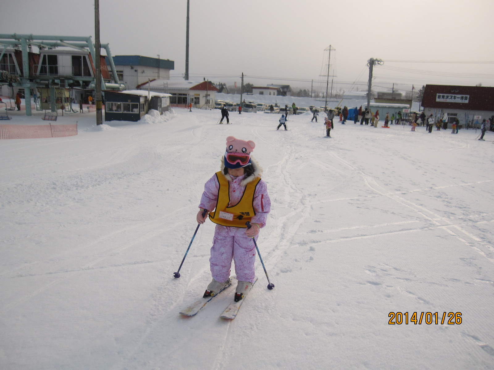初スキー_f0231042_13432045.jpg
