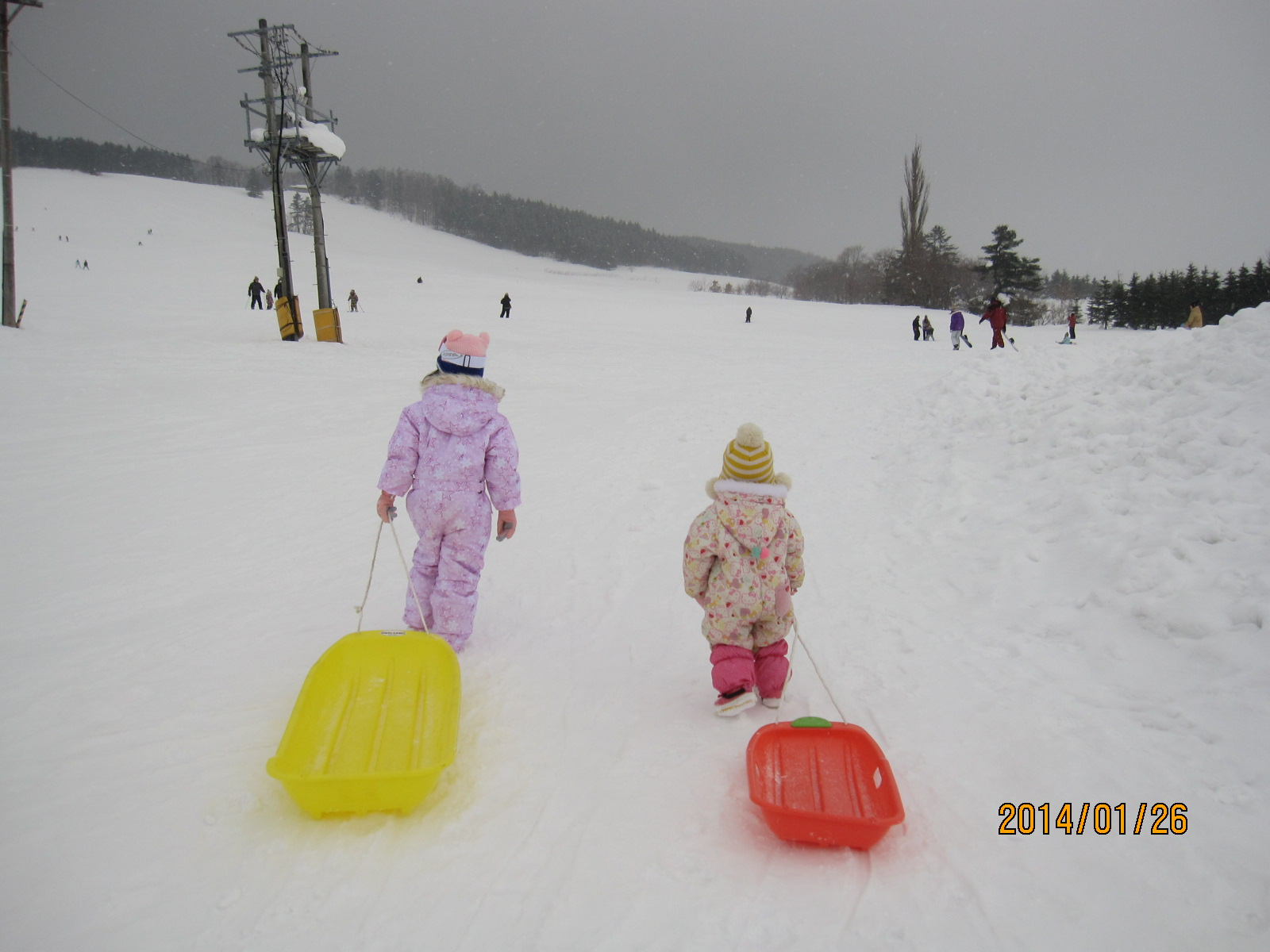 初スキー_f0231042_13444483.jpg