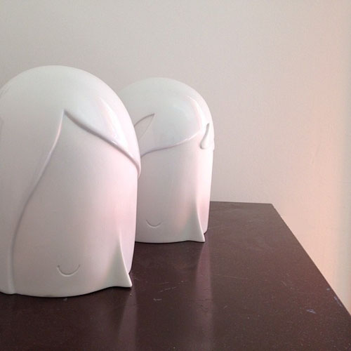 "Yoskay Yamamoto \""u + i\"" Sculptures_e0118156_14261016.jpg"