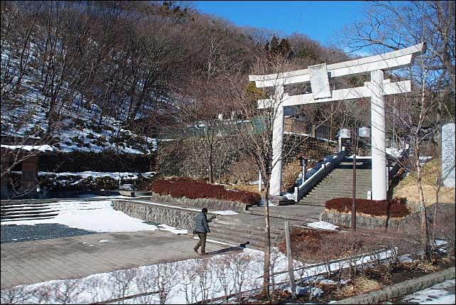 那須高原・・・冬の大丸温泉~友愛の森_b0053765_19531277.jpg