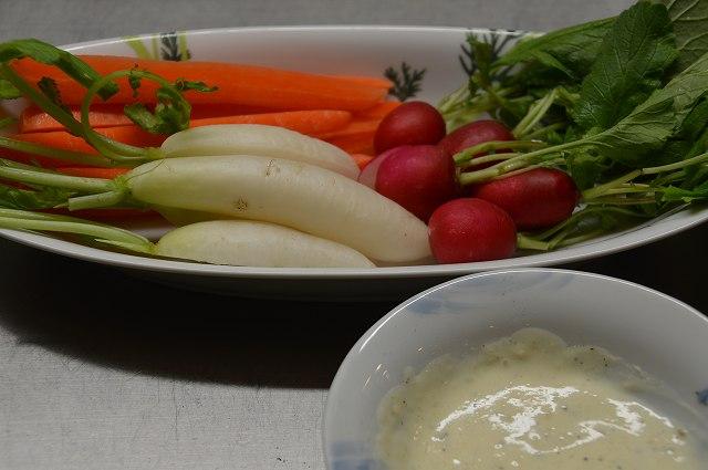 間引き野菜_c0124100_22573913.jpg