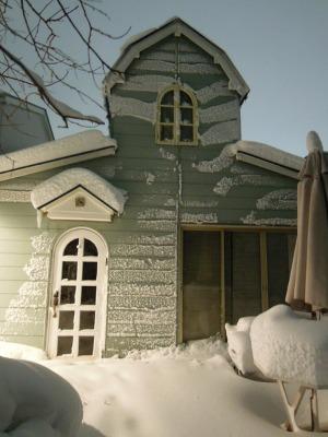 雪かきしました!_d0322102_10404613.jpg