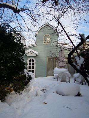 雪かきしました!_d0322102_1042230.jpg