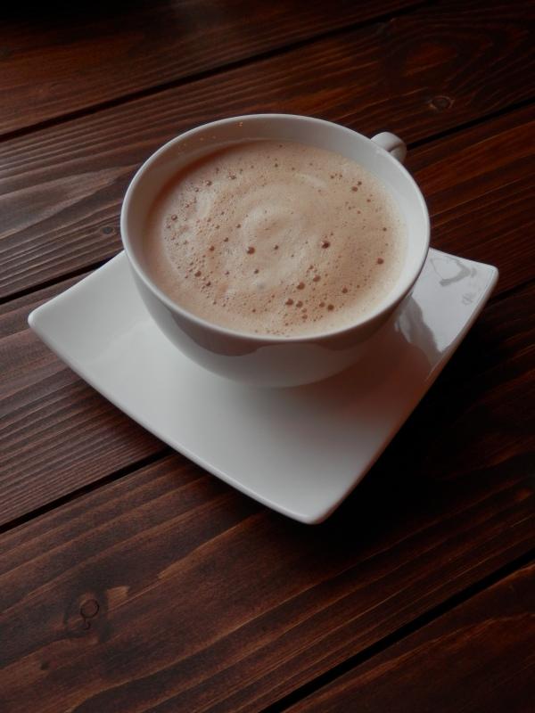 「オーガニックコーヒー」の「カフェオーレ」で_a0125419_07072483.jpg