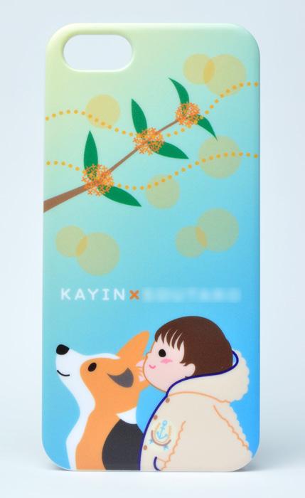 カインくん&息子さん きんもくせいiPhone5/5Sケース_d0102523_23295492.jpg