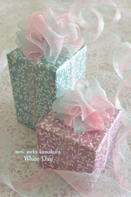 ◆Wrapping*White Day_f0251032_15445086.jpg