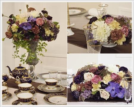 【テーブルウェアフェスティバル】花とテーブル_d0217944_23234584.jpg