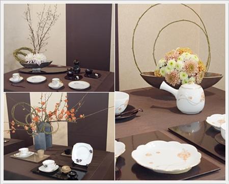 【テーブルウェアフェスティバル】花とテーブル_d0217944_23355519.jpg