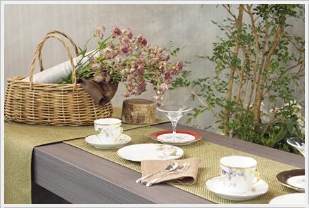 【テーブルウェアフェスティバル】花とテーブル_d0217944_2393867.jpg