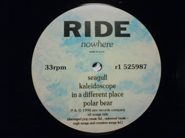 Nowhere / Ride_c0104445_21254218.jpg