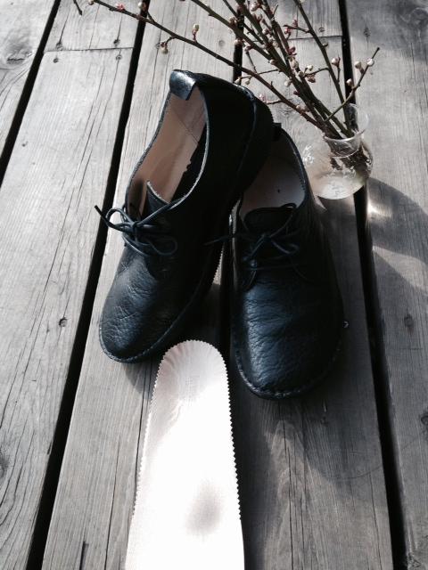 いい靴見つけたー! 春はすぐそこ。マルシェもあります! _e0177713_15133683.jpg
