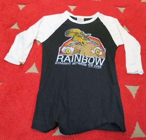 2月11日(火)入荷! 82年 RAINBOW  バンドTシャツ!_c0144020_16011865.jpg