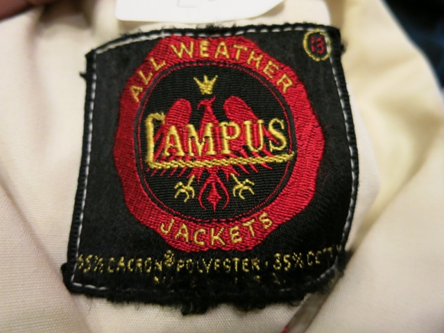 70's チェーンステッチ  all weather Campus JKT_c0144020_16175325.jpg