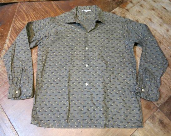 2月11日(火)入荷! 60'S PENNY'S 小紋柄 オープンカラーシャツ!_c0144020_18155771.jpg