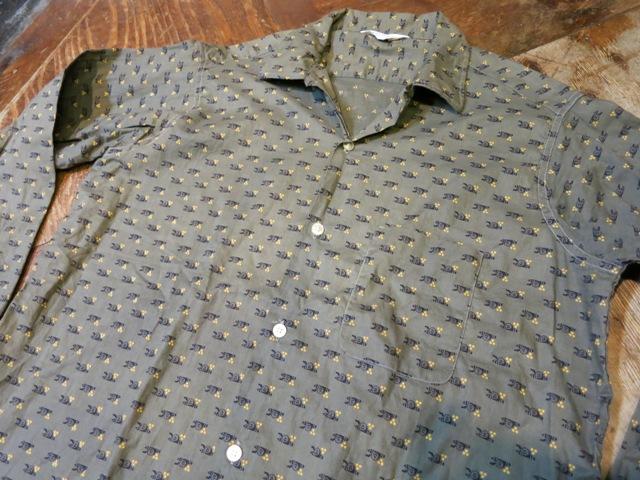 2月11日(火)入荷! 60'S PENNY'S 小紋柄 オープンカラーシャツ!_c0144020_18160042.jpg