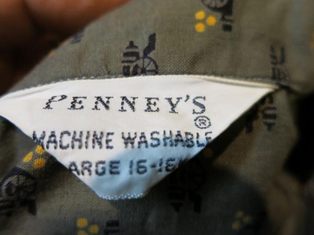 2月11日(火)入荷! 60'S PENNY'S 小紋柄 オープンカラーシャツ!_c0144020_18160758.jpg